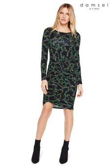 Damsel In A Dress Multi Odele Printed Jersey Dress