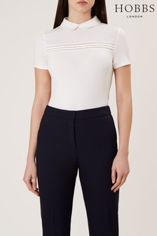 Hobbs White Reina Top