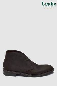 Loake Brown Suede Spirit Boots