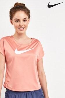 Nike Run Swoosh Short Sleeve Tee