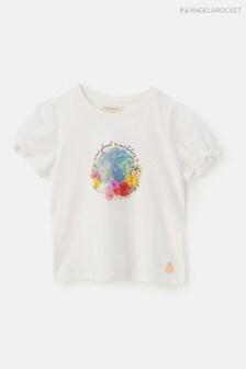 Angel & Rocket Our World Print T-Shirt