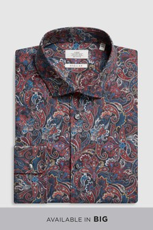 Regular Fit Paisley Print Shirt