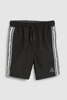 Side Stripe Swim Shorts (3mths-16yrs)
