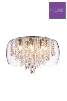 Marquis by Waterford Nore Large Encased Flush Light