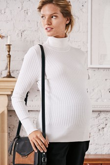 Maternity Roll Neck Sweater