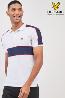 Lyle & Scott Cut And Sew Polo