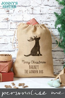 Personalised Pet Xmas Sack by Jonny's Sister