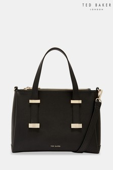 Ted Baker Black Small Bow Tote Bag