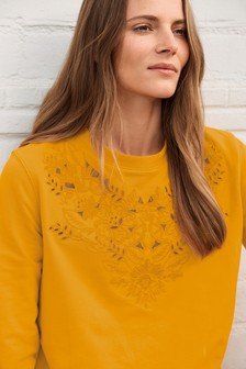 Embroidery Detail Sweater