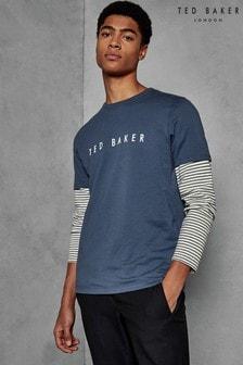 Ted Baker Blue Logo Tee