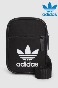 adidas Originals Black Trefoil Festival Bag