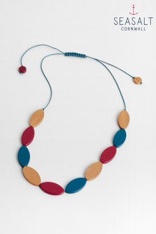 Seasalt Oval Necklace Expressive Maple