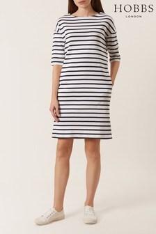 שמלת Mariner לבנה של Hobbs