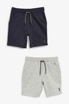 Shorts, 2er-Pack (3-16yrs)