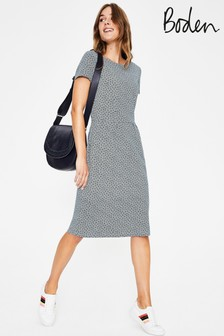 Boden Grey Phoebe Jersey Dress
