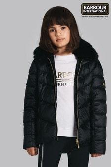 Barbour® International Black Nurburg Quilt Jacket