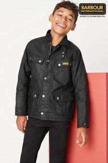 Barbour® International Black Duke Boys Jacket