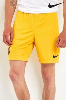 Nike Yellow FC Barcelona 2019/20 Short
