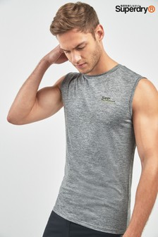 Superdry Grey Sports Tank Top