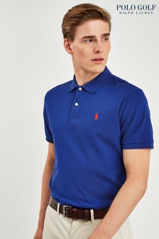 Ralph Lauren Polo Golf Royal Blue Stripe Poloshirt