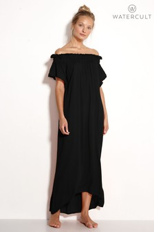 Watercult Black Off The Shoulder Dress