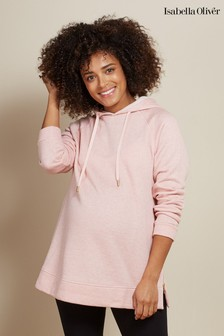 Isabella Oliver Pink The Maternity Lounge Hoody