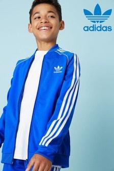 adidas Originals Blue Superstar Track Top
