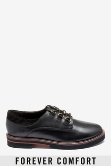 Signature Forever Comfort® Leather EVA Hardware Lace-Ups