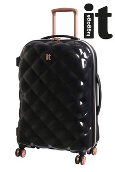 IT Luggage St Tropez Quilted Look Suitcase Medium