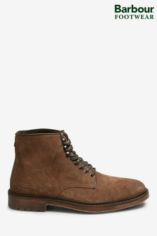 Barbour® Seaburn Derby Tobacco Suede Boots