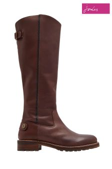 Joules Chestnut Compton Knee Height Boot