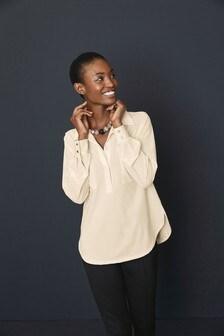 Utility Pocket Longline Jersey Shirt