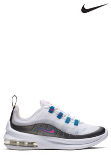 Nike White/Blue/Pink Air Max Axis Junior Trainers