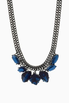 Crystal Stone Effect Necklace