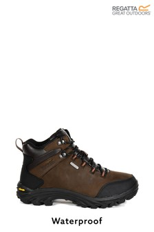 Regatta Burrell Leather Waterproof Walking Boots