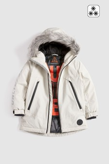 White Technical Performance Parka (3-16yrs)