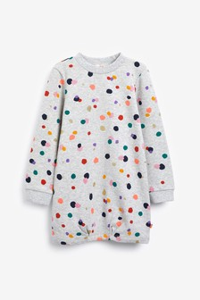 Billieblush Grey Spot Dress