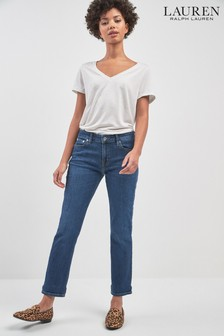 Lauren Ralph Lauren Straight Fit Jeans