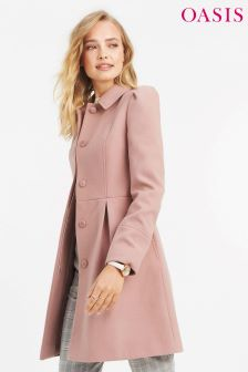 Oasis Mid Pink Angelique Princess Coat