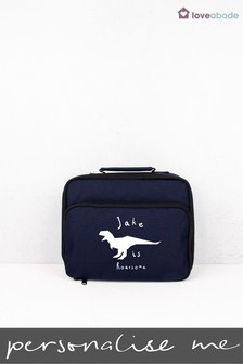 Personalised Dinosaur Lunch Bag by Loveabode