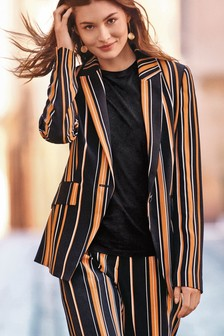 Tailored Stripe Jacket