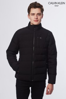 Calvin Klein Golf Black Hypervis Padded Jacket