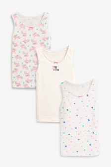 3 Pack Unicorn Vests (1.5-12yrs)
