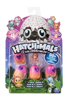 Hatchimals CollEGGtibles Season 4 – 4 Pack + Bonus