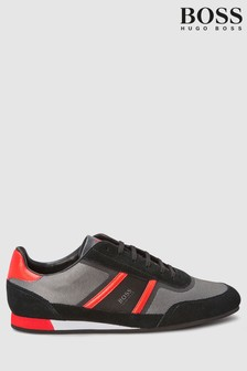 BOSS Grey Lighter Trainer