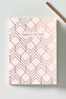 Pink Geo Daily Journal