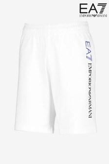 Emporio Armani EA7 White Logo Short
