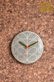 Orla Kiely Floral Wall Clock