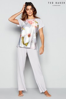 Ted Baker Grey Chatsworth Jersey Pant