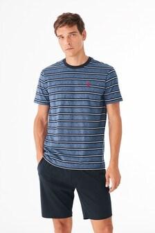 Grindle Stripe Jersey Short Set